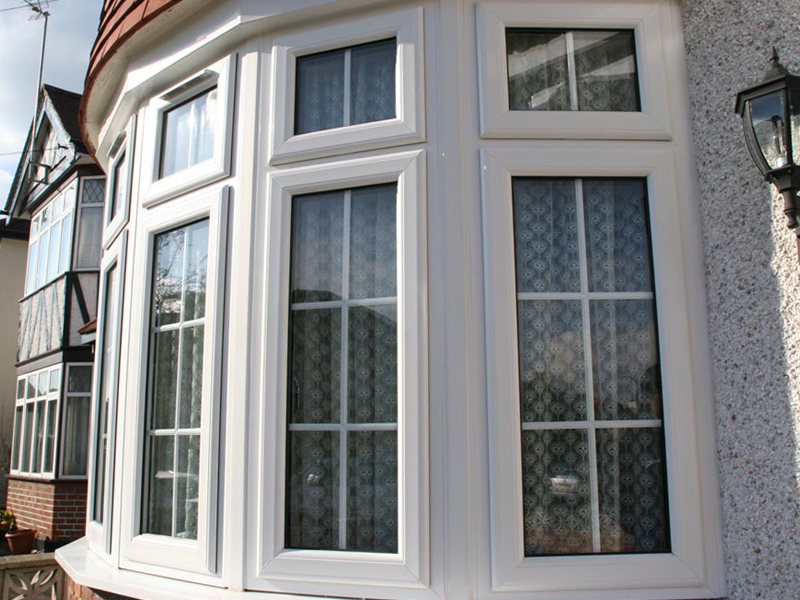 uPVC Bay Window Casements