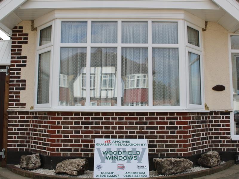Bungalow bay window