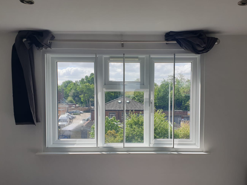 3 panel slider - secondary glazing