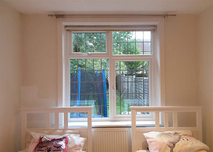 uPVC Windows - Twin bed view