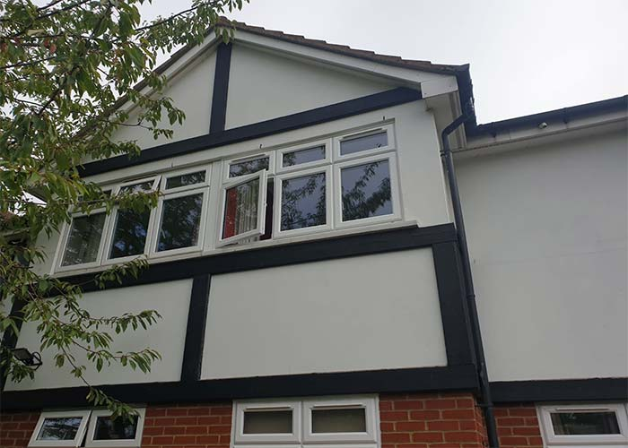 uPVC Windows side view