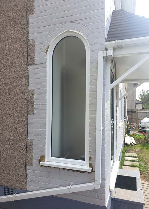 uPVC Windows Arched